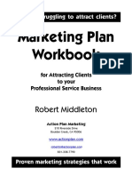 Marketing Plan_action Workbook for PSF