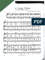 So Long Mom - Tom Lehrer