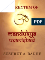 The Rhythm of Mandukya Upanishad