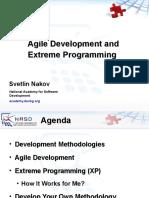 Agile Methodologies and Extreme Programming Svetlin Nakov
