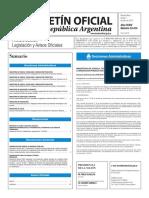 Boletín Oficial de la República Argentina, Número 33.414. 07 de julio de 2016