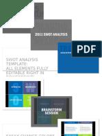 SWOT Analysis_24 Templates