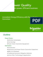 Immediate Energy Efficiency With Power Factor Correction