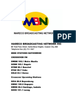 Mareco Broadcasting Network Incorporated 1