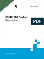 Manual ZXHN F660
