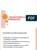 2 RECRUITMENT OF SALES PERSONNEL.pptx