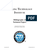 Bibliography of Categorized for Technical Content