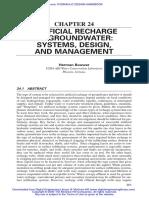 GW Recharge