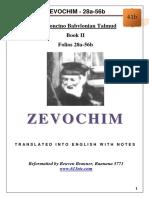 41b - Zevochim - 28a-56b