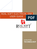 RealSoft ERP User Manual