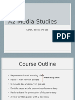 A2 Course Outline Powerpoint