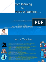 From learning to elearning