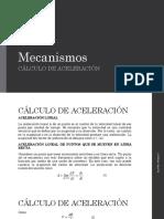 ACELERACIÓN DE MAQUINAS