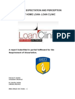 home loan project report