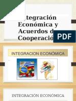 Integración Económica y Acuerdos de Cooperación