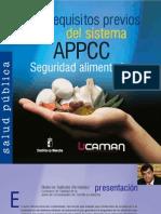 Requisitos Previos (PRP's).  Seguridad alimentaria (2ª edicion)