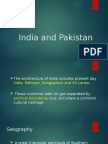 India and Pakistan