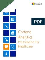 Cortana Analytics in Healthcare White Paper