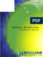 Xenium Solderless Install Manual