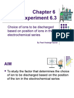 Chemistry Form 4 experiment chapter 6 (6.3) - electrolysis