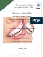 Patologias Odontologicas Mas Comunes
