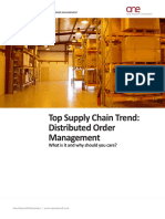 Distributed Order Management 2014