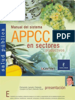 Manual APPCC en Sectores Productivos. 2009