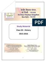 Study Material Class Xii History 2015 16