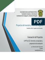 Evaluacion de Proyectos Capitulo1