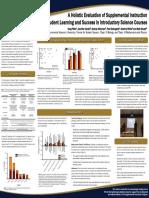 2016 NACTA Poster - Supplemental Instruction
