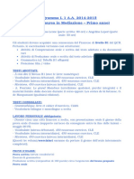 Programma L1 a.a. 2014 2015 Corso Di Laurea in …