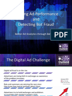 Tracking Ad Performance and Detecting Bot Fraud