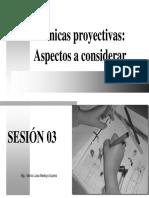 Tecnicas Proyectivas- Aspectos a considerar