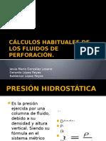 Cálculos Habituales de Los Fluidos de Perforación