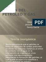 Origen Del Petróleo y Gas