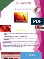 Tipos de Aborto Diapositivas - Universidad Nacional Toribio Rodriguez de Mendoza