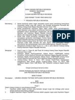 Uu No 2-2002 Tng Kepolisian Negara Repoblik Indonesia