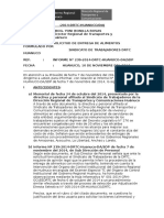 Informe Adquisicion Alimentos 2014 - Sindicato