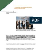 01-12-2015 Puebla Noticias - Reconoce Coneval La Estrategia de Combate a La Pobreza Implementada en Puebla Por Moreno Valle