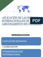 Aplicacion de Las Normas Internacionales de Aseguramiento en Colombia