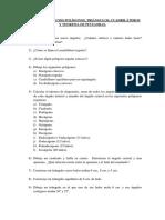 1º Eso - Enunciados Ejercicios Clase Tema Polígonos y Teorema de Pitágoras