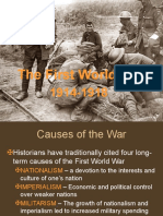 First World War .Ppt