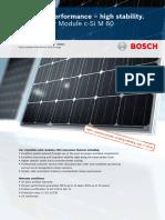 Bosch Solar Module c Si M 60 English