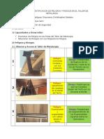 Inspección Nº2 Identificación de Peligros y Riesgos en El Taller de Metalurgia