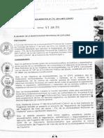 ORDENANZA QUE APRUEBA EL REGLAMENTO DE ORGANIZACIÓN Y FUNCIONES DEL COMITÉ DE GESTIÓN LOCAL PROVINCIAL DEL PROGRAMA DE COMPLEMENTACIÓN ALIMENTARIA.