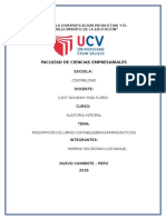 Prescripcion de Libros Contables