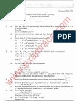IAS Mains Mathematics 1992