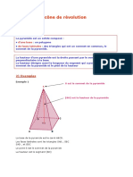 4e Pyramide Cone Revolution