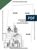Plano Arquitectónico Tecvalles Actual