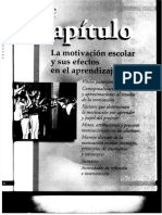 La Motivación   y sus  efectos en el Aprendizaje